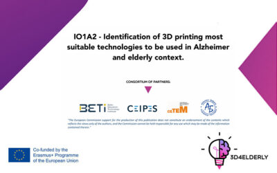 IO1A2 – guide for transferring knowledge Identification of 3D printing technologies is officially available